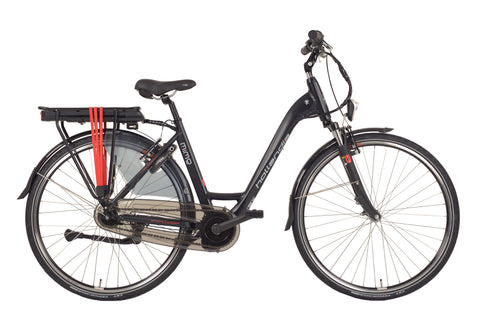 Hollandia Mimo Aluminum Small/Medium (19 inch) Shimano Nexus 7 Mid-Motor Electric City Bicycle