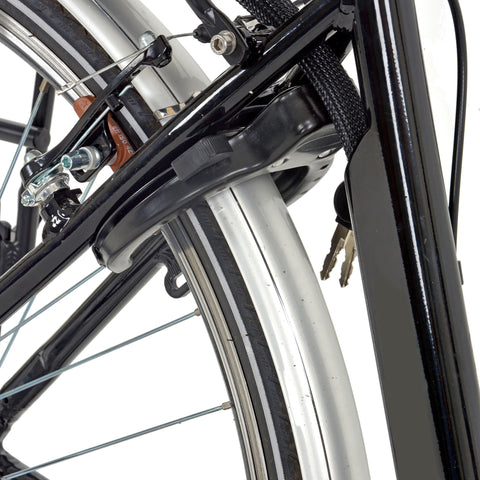 Hollandia Mobilit-E Aluminum Small/Medium (19 inch) Shimano Nexus 7 Hub-Motor Electric City Bicycle