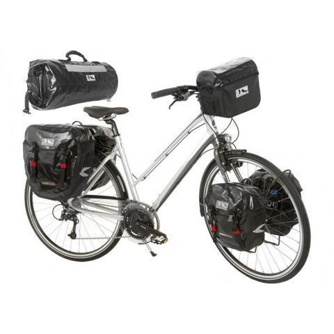 M-Wave Canada Pro Small Side Bicycle Bags (Pair) Waterproof