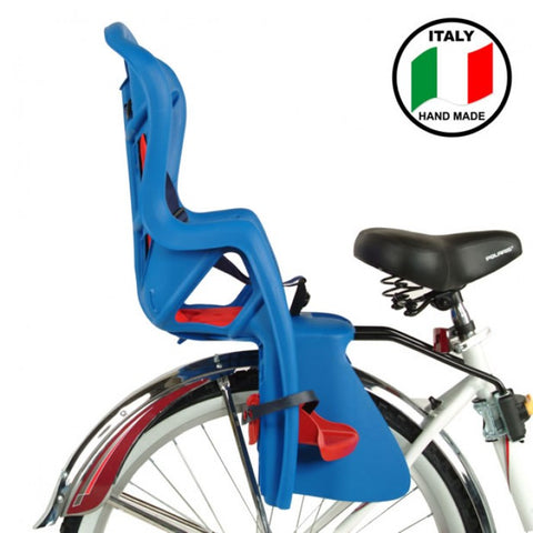 Bellelli Pepe Bicycle Child/Baby Seat Blue Standard Fit