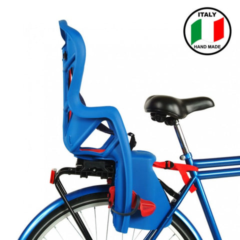 Bellelli Pepe Bicycle Child/Baby Seat Blue Clamp Fit