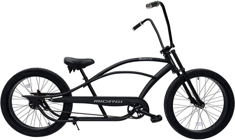 Micargi Bronco 3.0 Stretch Cruiser with High Rise Handlebars