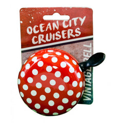 Polka Dot Red Big Bell for Bicycles