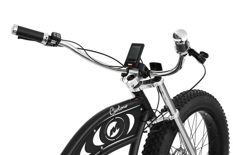 Micargi Alloy Chrome Plated Retro Cruiser Handlebar
