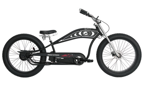 "26"" Micargi Cyclone Cruiser Electric Bicycle 500w"