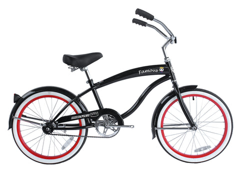 Micargi Famous 20″ Steel Frame Boy's Beach Cruiser