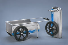 Foldit Utility Garden Cart - Bicycle Cargo Trailer - Marine Cart