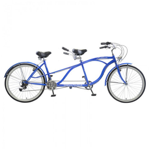 Hollandia Rathburn Tandem Bicycle 18 Speed Beach Cruiser