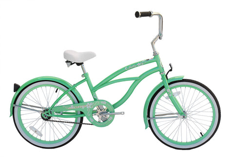 Micargi Jetta 20″ Girl's Beach Cruiser Bicycle