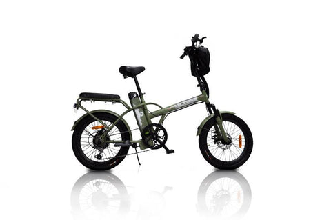 Jager Dune Two Seater Electric Bicycle 350 Motor 36v Battery-GreenBike Electric Motion