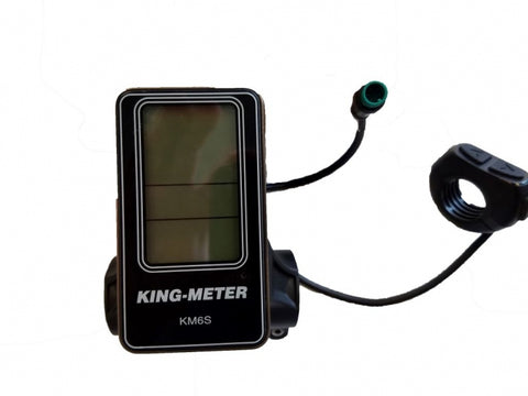Kingmeter KM6S LCD Smart PAS Device Female Plug End Version Rubicon Sedona Baja