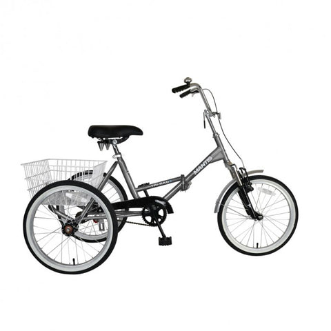 Mantis Tri-Rad 20 Adult Folding Tricycle - Single Speed