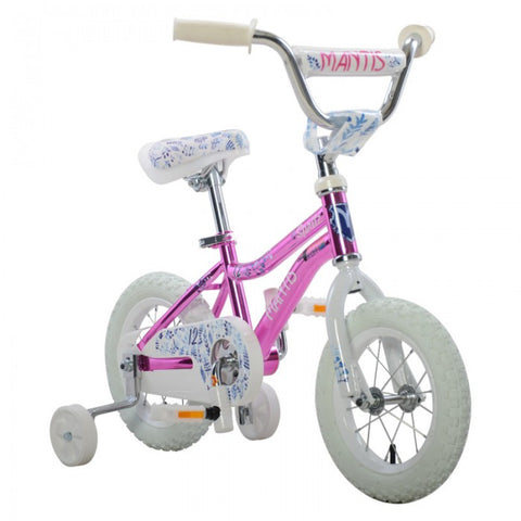 MantisSpritz Pink Ready2Roll 12 inch Kids Bicycle