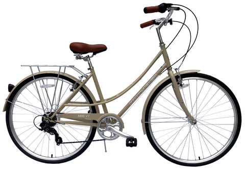 Micargi Mixe City Women's 7 Speed Bicycle 700c Steel Frame