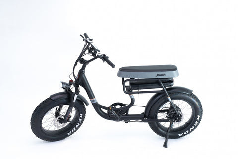 Mule Two Seater Electric Bicycle 500w Motor 48v Battery