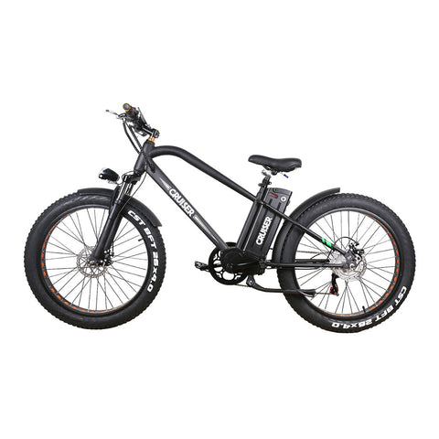 Nakto Super Cruiser Electric Bike superceb001 Fat Tire 500w