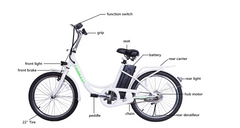 [OPEN BOX] Nakto Elegance City Electric Bicycle 22