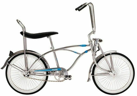"Micargi Prince Chrome 20"" Lowrider Bicycle"