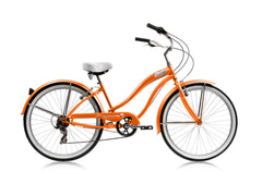 26″ Micargi Rover 7 Speed Women's Beach Cruiser Shimano RS35 V-Brake