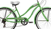 Image of 26″ Micargi Rover 7 Speed Women's Beach Cruiser Shimano RS35 V-Brake