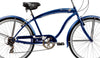 Image of 26″ Micargi Rover 7 Speed Men's Beach Cruiser Shimano RS35 V-Brake