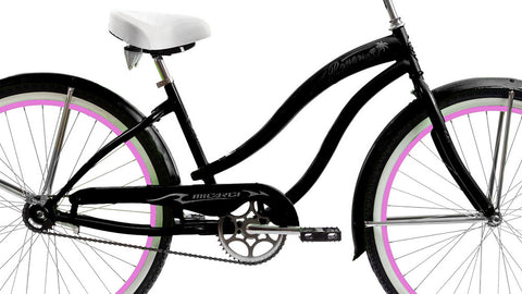 "Micargi Rover GX  Women's 26"" Beach Cruiser Bicycle"