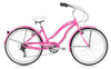 Image of Micargi Rover LX 24″ 7 Speed Aluminum Frame Beach Cruiser Bicycle