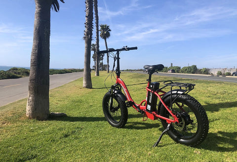 Emojo Ram Sport 750w 48v Electric Bicycle Fat Tires