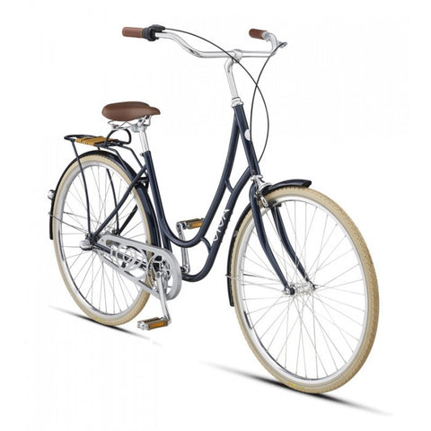 Viva Juliett 3 Metallic Blue 47 cm City Cruiser 700 C Bicycle Step Through