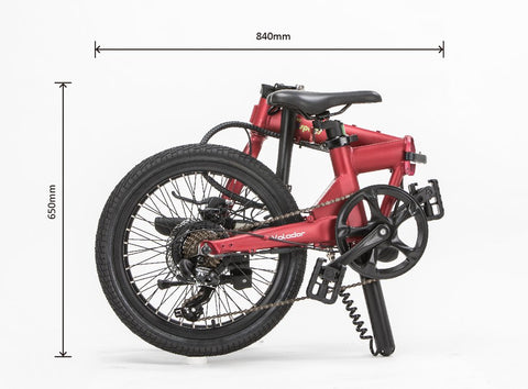 Volador by Qualisports 350w 36v Foldable Electric Bike