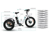 Image of PRE ORDER Emojo Caddy Seven Speed Electric Adult Tricycle 500w 48v Fat Tires