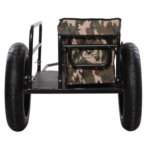 Cycle Force | EV Bicycle Cargo & Surf Board Trailer with Camouflage Cover
