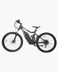 Tornado Full Suspension MTB Mountain Electric Bike 750 Watt Rear Hub-Ecotric