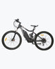 Image of Tornado Full Suspension MTB Mountain Electric Bike 750 Watt Rear Hub-Ecotric