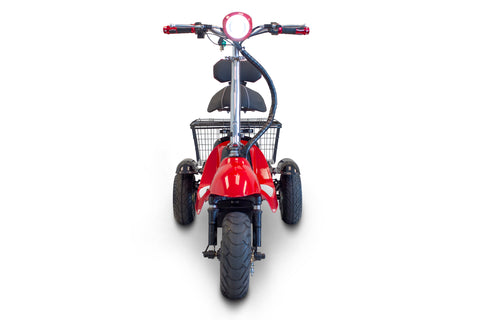 EW-19 500W High Speed Long Range Scooter 48V with Rear Basket