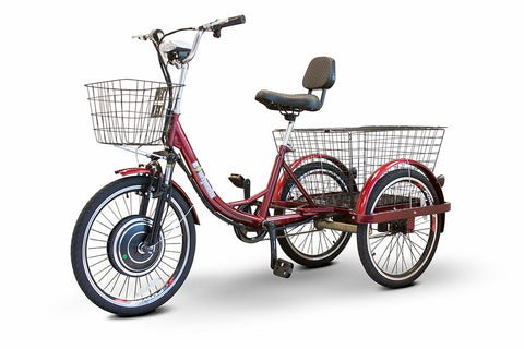 EW-29 500W Three Wheel Trike w/ Electric or Pedal Option 48V