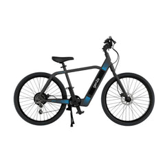 GenZe E201 Black/ Blue 350w Electric Bicycle