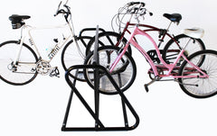 Dual Use Parking Stand: 5 or 10 Bikes Hollywood Racks PS10HD