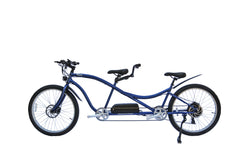 Micargi Aloha Tandem Electric Bicycle 500w Throttle Step Over