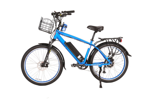 Laguna Electric Beach Cruiser Bicycle 48 Volt Lithium Powered X-Treme