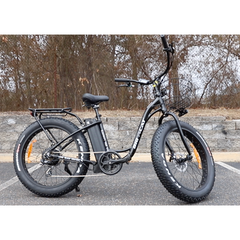 Big Cat Long Beach XL Cruiser Electric Bicycle 500w Low Step Through