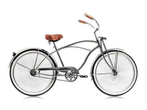 Micargi Cougar GTS 26″ Single Speed Beach Cruiser