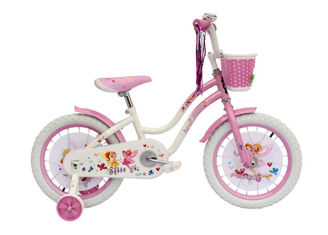 "Micargi Girl's 16"" Ellie Cruiser Steel Frame Bicycle"