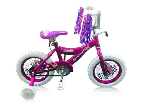"12"" Micargi KIDCO-G Girl's BMX-Style Bicycle"