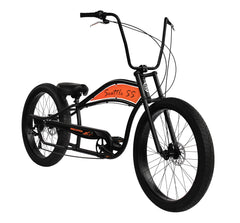 Micargi Seattle SS Stretch Cruiser Bike - 7 Speed Disc Brakes
