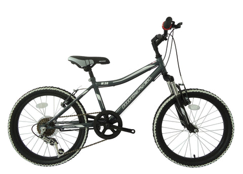 "Micargi 20"" M30 Mountain Bike Front Suspension Steel Frame"