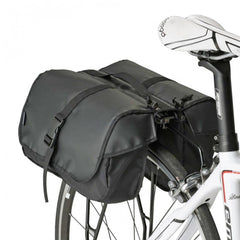 Minoura RC-1000 One Day Pannier Bag and Slim Bicycle Rack Combo 051-6010-01