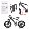 Image of NAKTO Discovery Fat Tire Electric Bicycle 20""