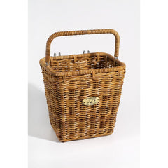 Nantucket Bicycle Basket Co.Cruiser Pannier Basket w/ Hooks Rattan