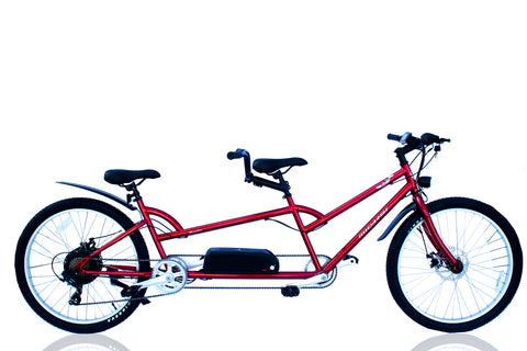 Micargi Raiatea Tandem Electric Bicycle 500w Throttle